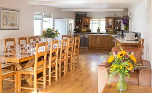 Culmbridge House - A lovely big sociable room with plenty of room for cooking and for all to dine together