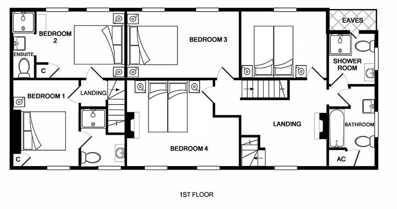 Floorplans Riverside Somerset Sleeps 12