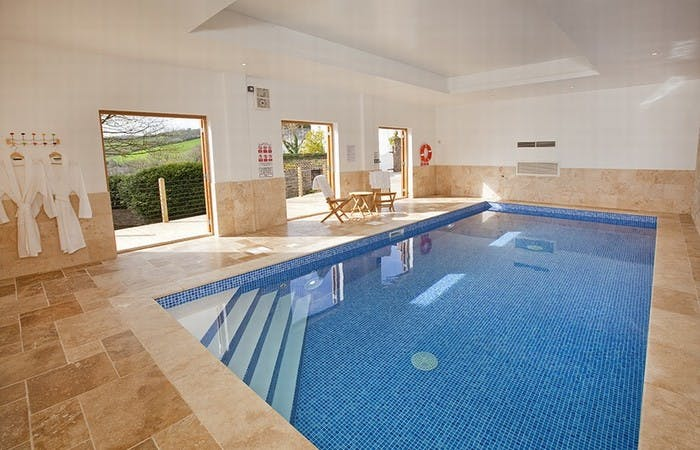 Large Devon house sleeping 16 in 8 bedrooms with indoor pool, games room and stunning views
