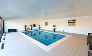 The Granary - The pool house is an amazing light filled room with doors that open onto the patio