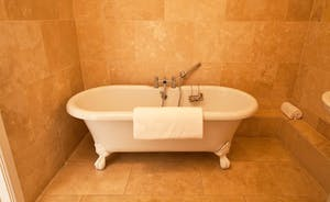 Thorncombe - Fill with bubbles - and relax! Fabulous roll top bath in the en suite for Bedroom 2