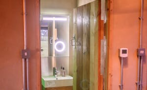 One of 3 shower rooms