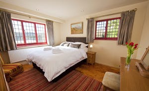 The Benches - Bedroom 5 is on the ground floor and has an en suite shower room
