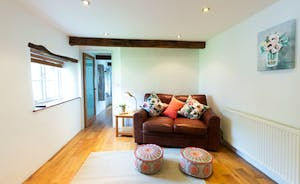 Pippinsands, Stonehayes Farm - The annex is very much a part of the house and has a sitting room and good sized kitchen