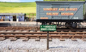 Pound Farm -  Just up the road you can catch a steam train to the seaside on the West Somerset Railway