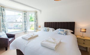 Culmbridge House - Bedroom 2: Natural light floods in through the big bay window