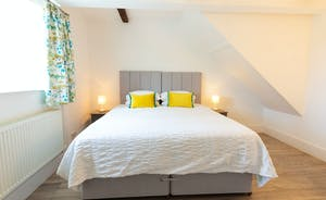 Frog Street: Bedroom 6 is on the ground floor; it has an en suite wet room and the option of an extra single bed (charged)