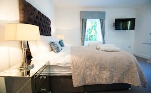 Pitmaston House - Bedroom 5 is on the second floor and has a double bed