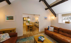 Open plan living in Cottage Six