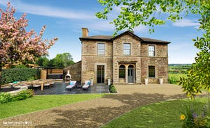 Withymans - Large group holiday house with hot tub In Somerset  (CGI)