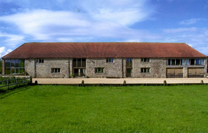 An image of 'Mudford Manor Barn'