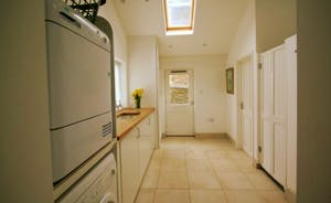 Utility Room with underfloor heating