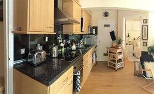 Fully fitted and equipped modern kitchen with everything you need plus more!