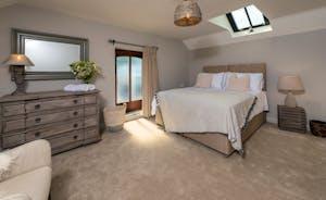 Whimbrels Barton - Bean Goose Barn: Bedroom 1 has a king size bed