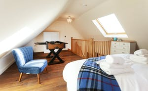 Bedroom 3, with views over miles and miles of unspoilt countryside