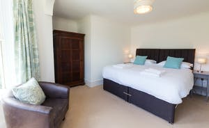 Culmbridge House - Bedroom 3: Stylish, light and airy