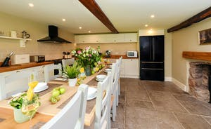 Pitsworthy: The kitchen is well equipped to cater for your large group holiday