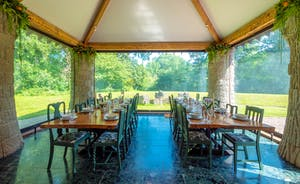 Dining Room looking to River Monnow