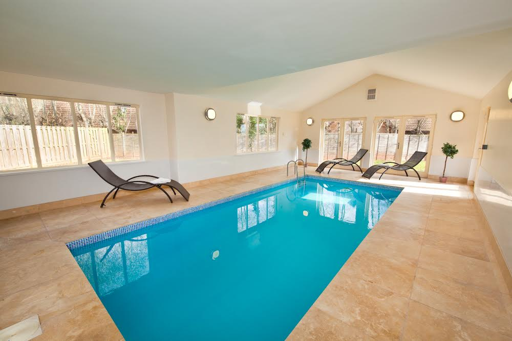 Private indoor pool suites  Foxcombe | 6 bedroom Lodge Holiday Rental in Somerset ...