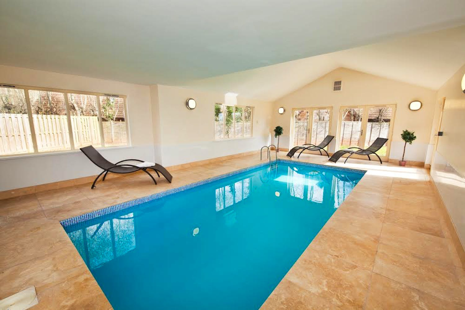 Private Indoor Pool Suites