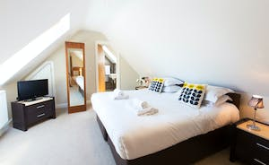 Ramscombe - Bedroom 6 is on the first floor and has an en suite shower room