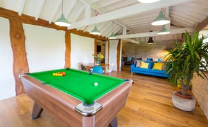 The Plough: A commodious sitting room/games room makes for happy, sociable times