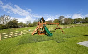 Holemoor Stables - Children will have heaps of fun on the chunky play equipment