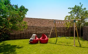 Pound Farm - There's play equipment to keep the younger members of your group happy
