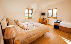 Wayside: Bedrooom 1; light and airy and very restful, like all the bedrooms as Wayside