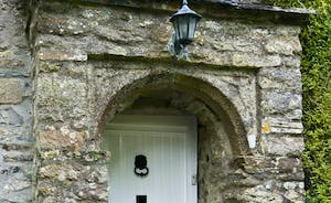 Porch  and chapel door