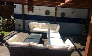 Comfy Seating on the Deck