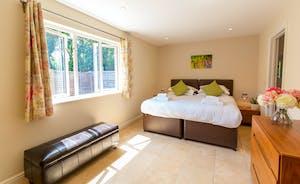 Cockercombe - Bedroom 2 is a ground floor room with an en suite shower room