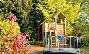 The outside playroom.