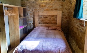 Sheep shed bedroom