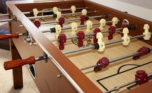 Pound Farm - The games room will have table football and a pool table