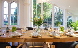 Pitmaston House - A huge dining table that comfortably seats 18 makes this the perfect property for entertaining and celebrations