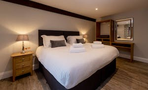 Kingshay Barton - Bedroom 8 (Warren) is accessed from the front courtyard and sleeps 2