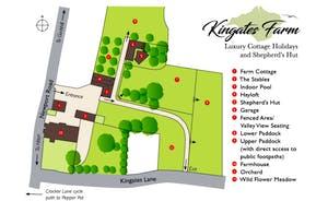 Kingates Farm Map