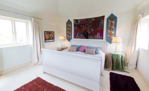 House On The Hill - Bedroom 4: A sense of calm, a touch eclectic