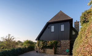 Minnehoma self catering house in Sandyhills Rock Cornwall