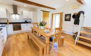 Wagtail Corner, Stonehayes Farm - To one end of the ground floor is a well-equipped kitchen/dining area