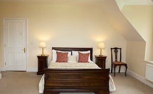 The Old Rectory - The spacious Charles Alford bedroom on the second floor - part of the Alford Suite