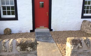 Etterick Smiddy front door