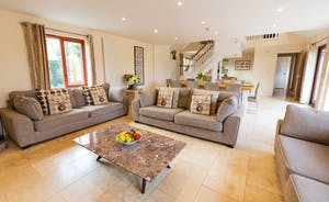 Thorncombe: A light and airy large group holiday home at the foot of the Quantock Hills