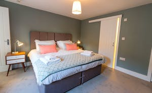 The Plough - Bedroom 7: A well chosen F&B colour palette throughout