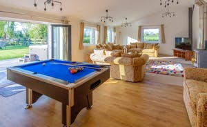 Orchard View - A lovely big room where you can all be together, enjoying your holiday
