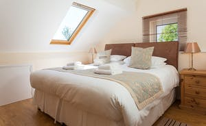 Millgrove House: Bedroom 4 - light and airy, like all the rooms