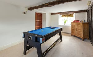 Frog Street: In the Games Room a 3 in 1 table means you can play pool, air hockey and table tennis