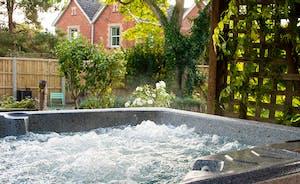 Unwind in the hot tub