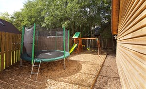 Ramscombe - Children will be delighted with the play equipment and trampoline